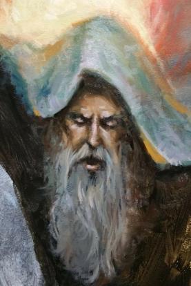 Detail of Elijah
