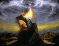 Elijah - Prayer Warrior - Oil Painting
